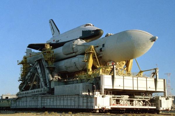 «Буран» c ракетой-носителем «Энергия»