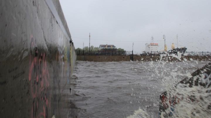 Сильный ветер поднимет уровень воды в дельте Северной Двины