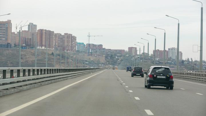 Въезд на левобережную развязку 4-го моста перекрывают до мая