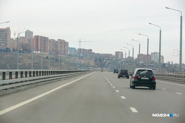 Въезд на мост с левого берега будет закрыт с сегодняшнего вечера