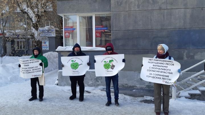 «Мы не хотим сваливать»: новосибирцы устроили антимусорный пикет в единый день протеста
