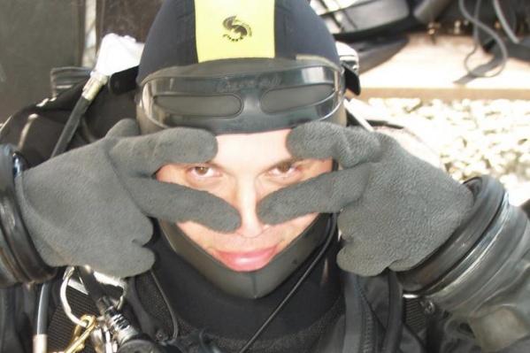 Пропавший Дмитрий Осипов. По словам коллег, один из лучших дайверов в России