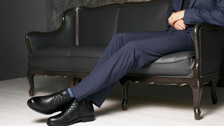 В популярной сети появилась мужская обувь из Турции — кожа и мех натуральные, цена невысокая