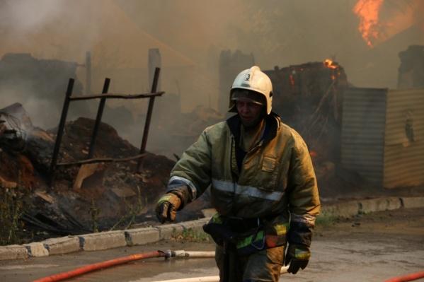 Спасатели просят быть аккуратней с огнем