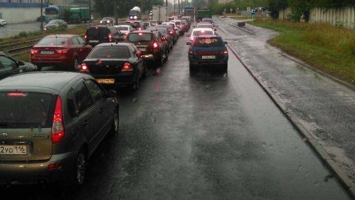 ГИБДД попросила автомобилистов Екатеринбурга не создавать 9-балльные пробки