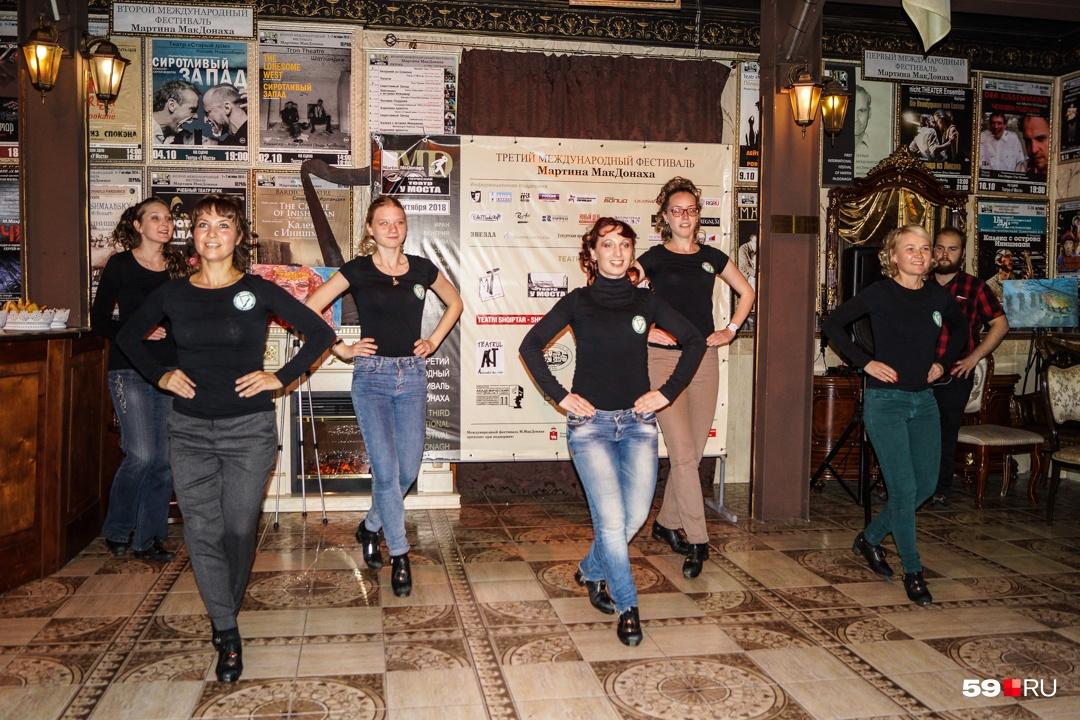 Танцовщицы ирландского ансамбля «Иридан» подстроятся под любой ритм музыки