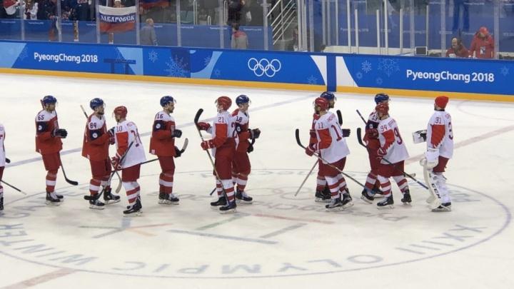 В День защитника Отечества челябинские хоккеисты пробились в финал Олимпиады-2018