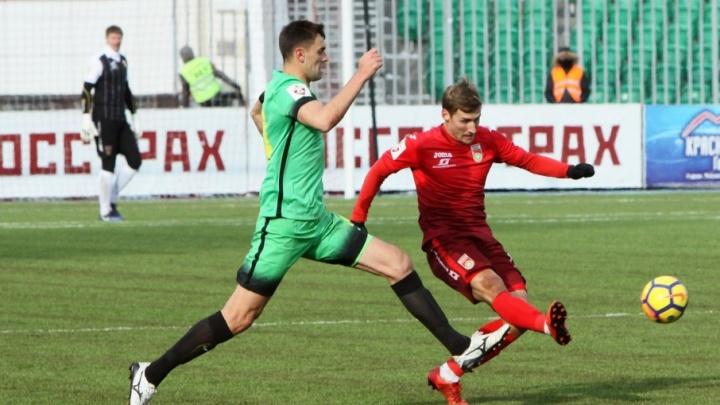 «Уфа» обыграла «Анжи», забив дважды за две минуты