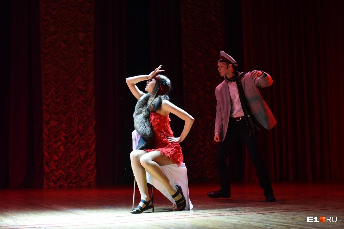 За вечер лицеисты успели станцевать танго, вальс и чарльстон