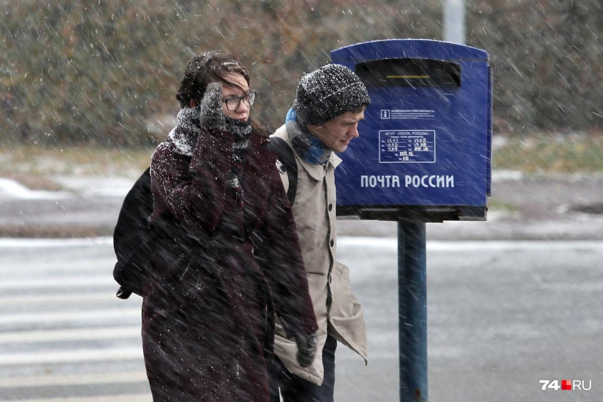 К понедельнику в регионе может опять выпасть мокрый снег