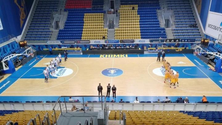 Баскетбол: БК «Новосибирск» победил «Химки-Подмосковье»в матче Суперлиги