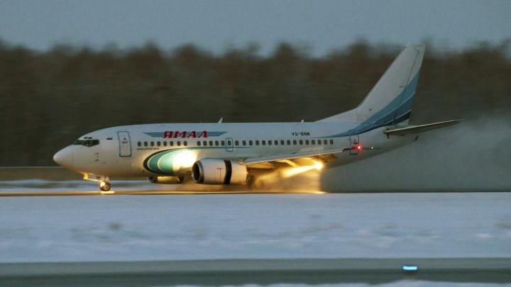 Самолёт, вылетевший из Тюмени в Москву, на полпути вернулся обратно