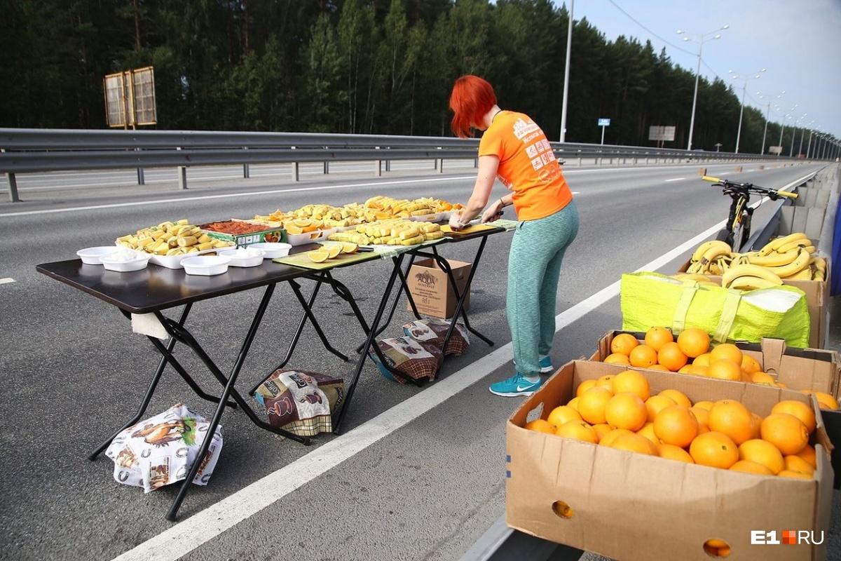 Питание для марафонцев