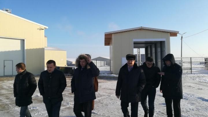 Замруководителя Россельхознадзора Константин Савенков прибыл в Курганскую область