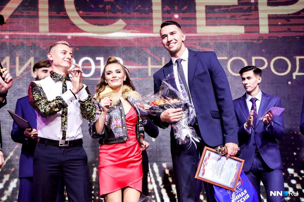На фото справа — победитель 2018 года Павел Степанов, в середине — организатор Кристина Горькая