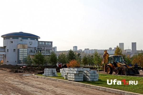 Работы по реконструкции начались осенью этого года