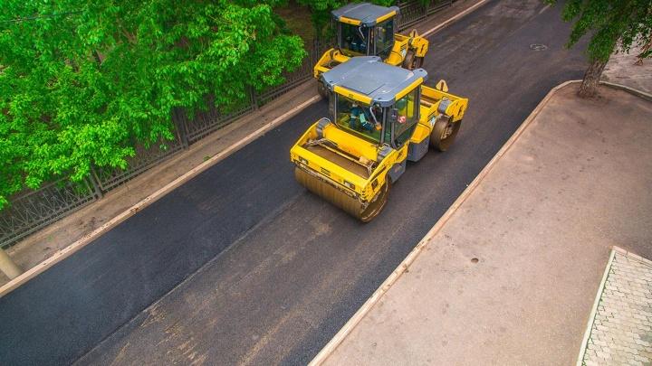 Еще совсем чуть-чуть: в Уфе дороги отремонтировали на 50%