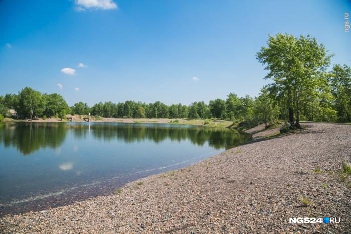 Наострове Татышеве вКрасноярске откроют купальный сезон