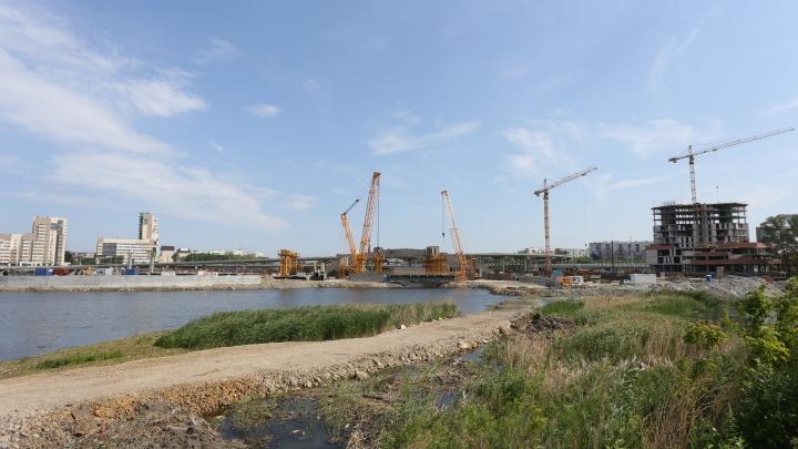 Укрепить берега гранитом: в Челябинске прошёл новый конкурс по замороженному конгресс-холлу
