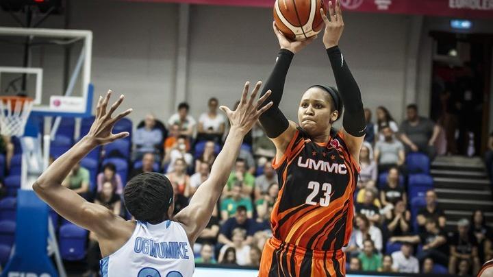 Баскетболистки «УГМК» обыграли соперниц из Курска и вышли в финал Евролиги