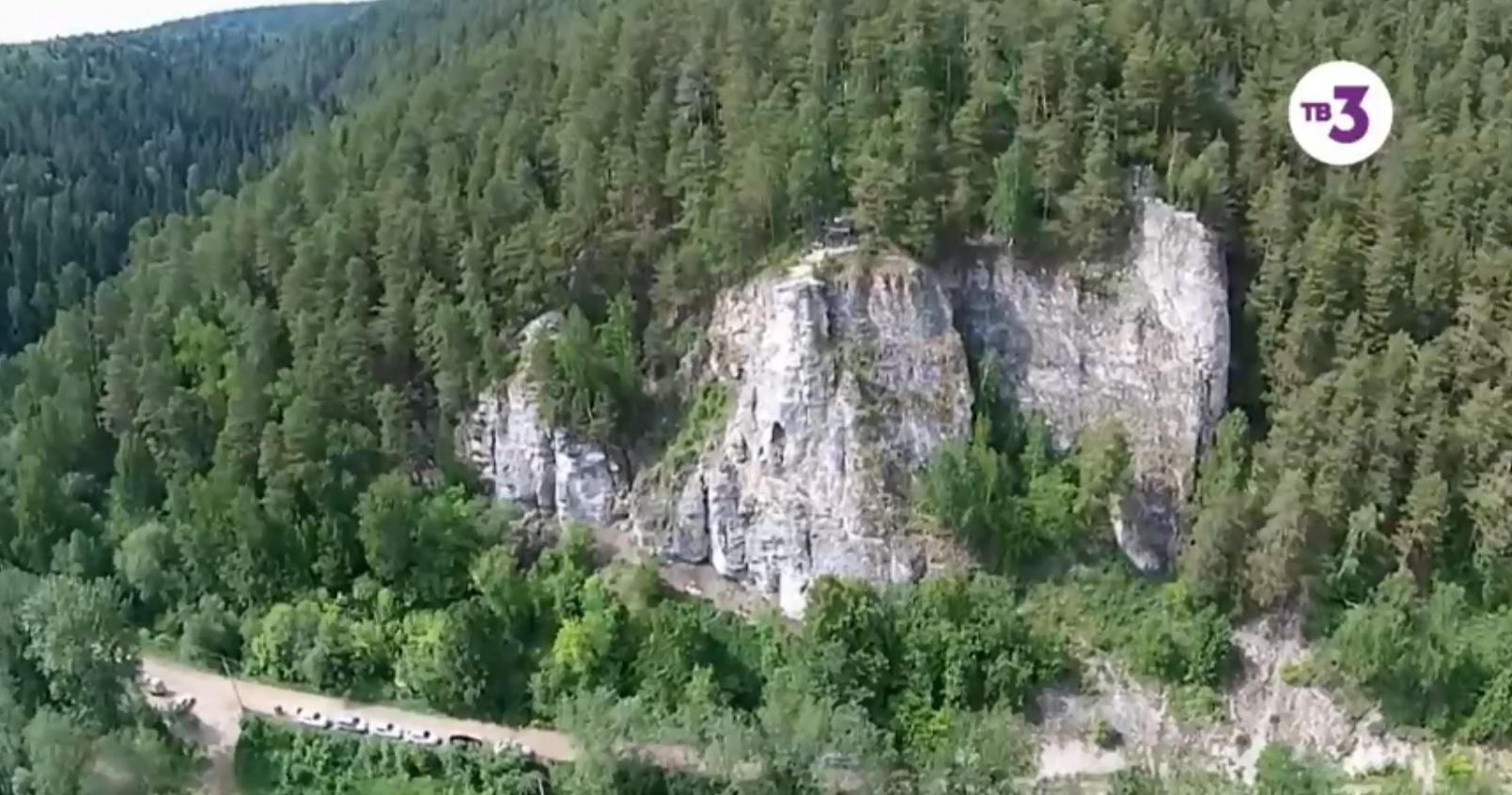 Это скала Ермак в Кунгурском районе, недалеко от этого места и пропала Катя девять лет назад — 12 июня 2010 года