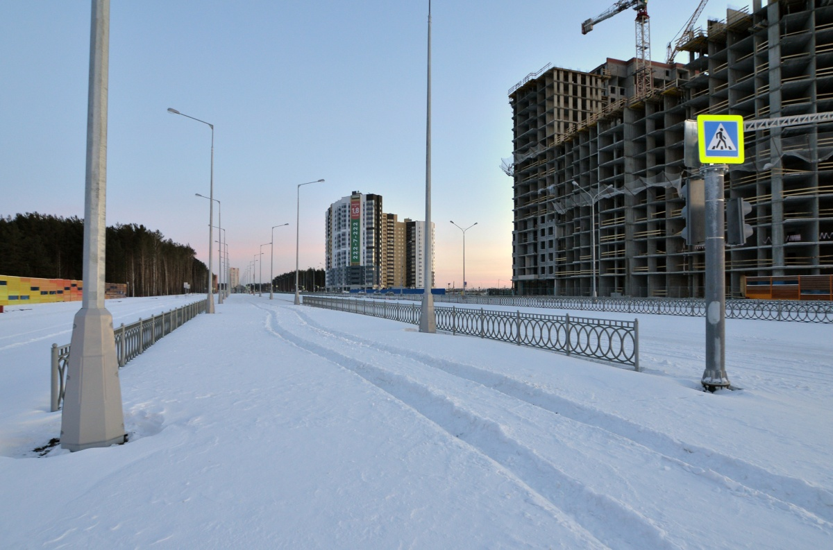 Пока не будут подготовлены документы, на новой дороге даже нельзя чистить снег