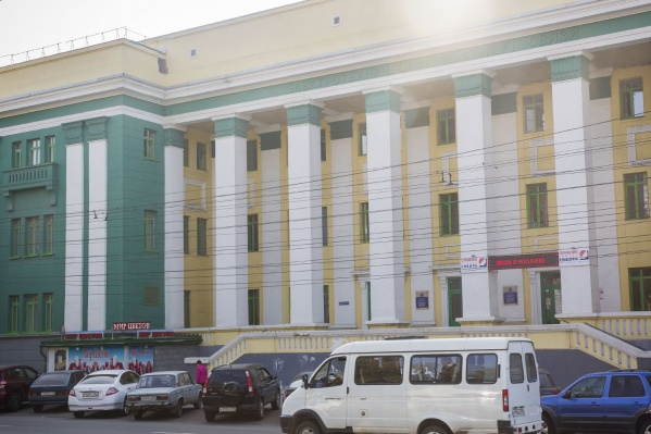 Корпус СибГУТИ на улице Кирова