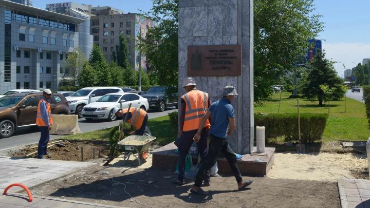 В центре Волгограда срочно сажают сакуры к приезду сборной Японии
