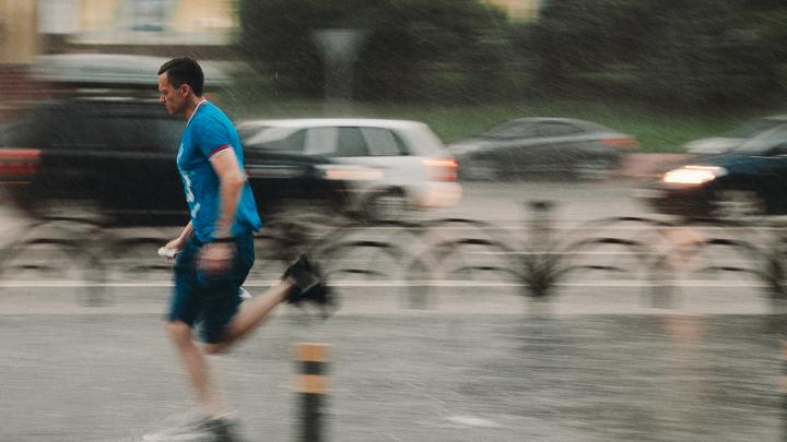 На Тюмень идет циклон с дождями и сильным ветром