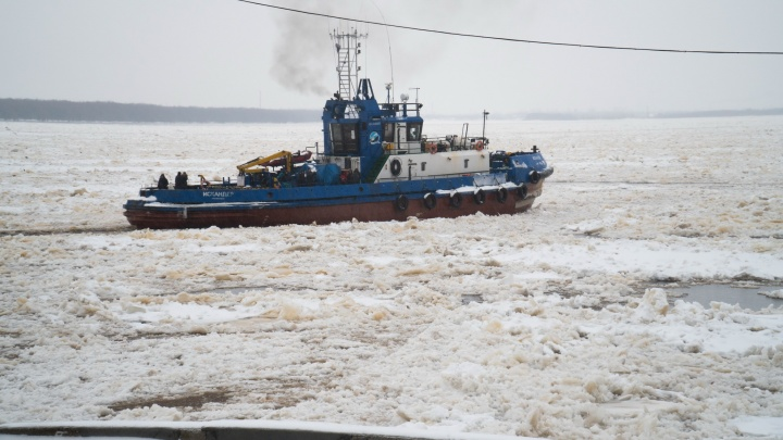 В Архангельске прекращается буксирное сообщение между22 и 23 лесозаводами