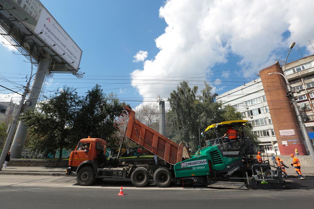 Ремонт двух оживлённых магистралей закончили раньше срока