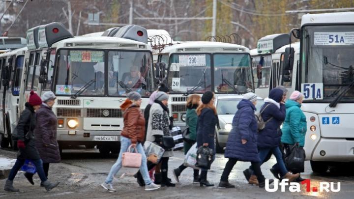 Уфимцы могут следить в режиме онлайн за движением городского транспорта