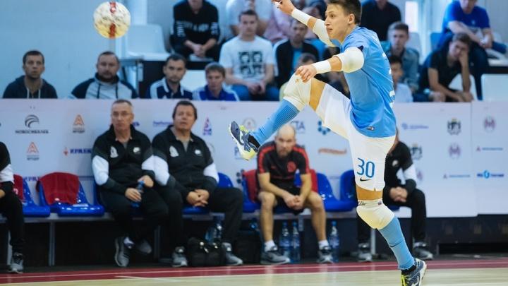 Футболиста из Новосибирска вызвали играть за национальную сборную