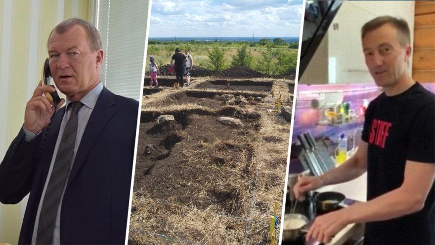 Кашеварят, стареют и копают могильник: как проводит свой отпуск самарский истеблишмент