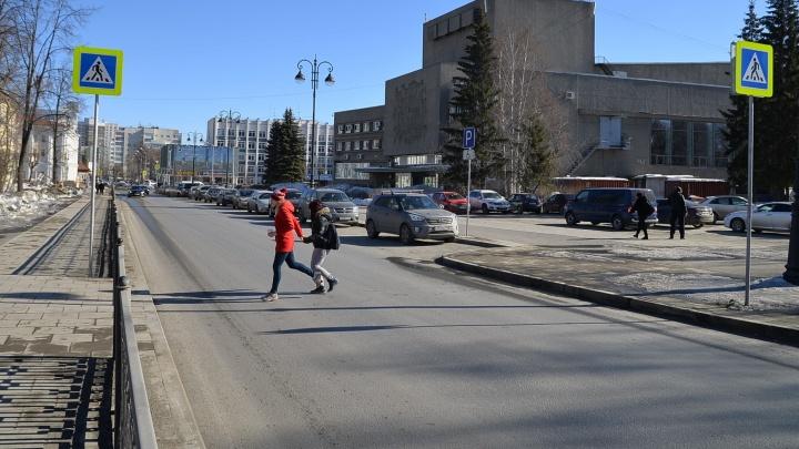 """Руководство Дворца молодёжи попросило установить """"лежачий полицейский"""" в Пестеревском переулке"""