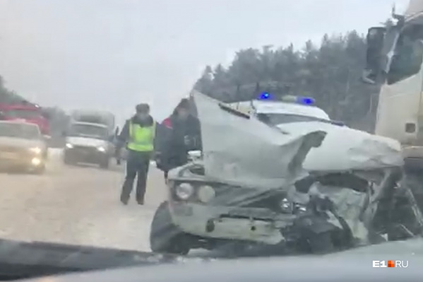 Пассажиры ВАЗа чудом не пострадали