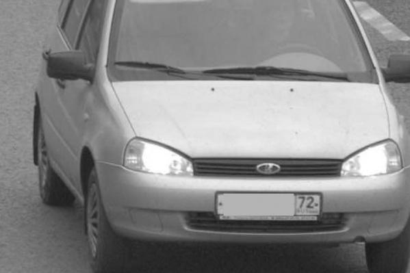 Преступницу на угнанной машине неоднократно ловила камера