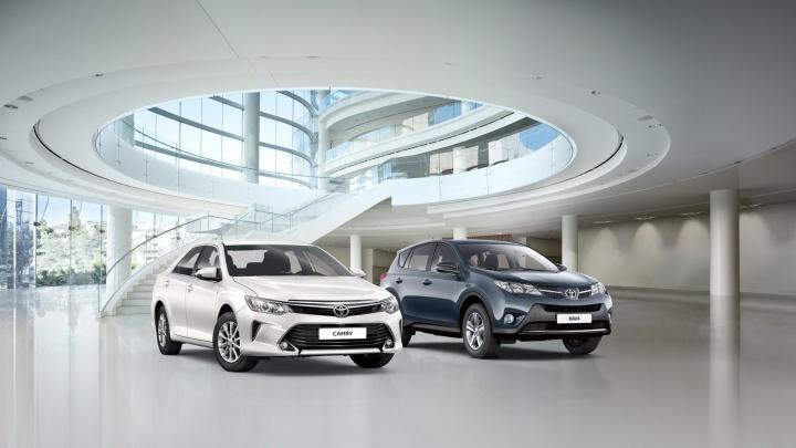 Toyota обрушила цены на самые популярные модели