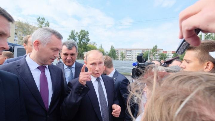 Все успел: что Путин делал на «Технопроме» и в школе Оби (онлайн-репортаж)