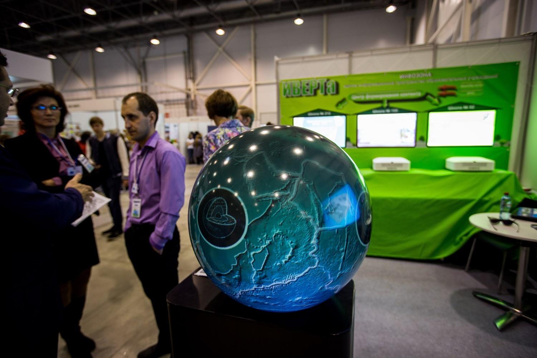 Интерактивный глобус явно выигрывает у традиционного