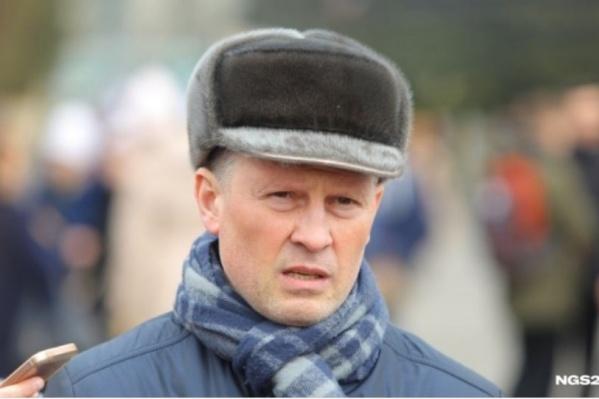 Владимир Часовитин на одном из митингов<br><br>