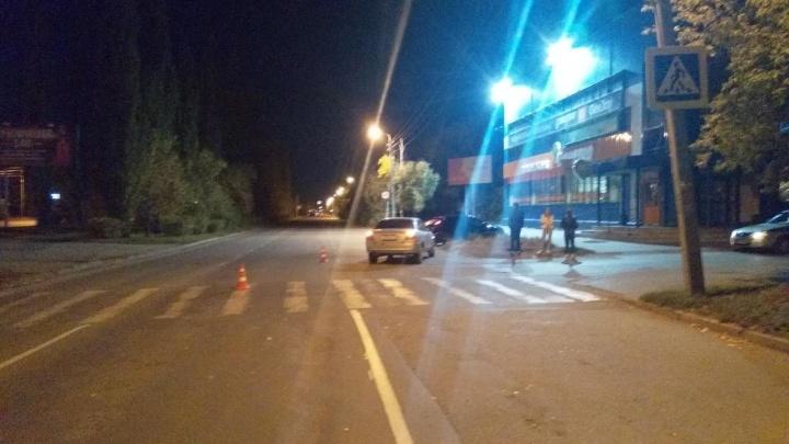 В Шадринске 18-летняя девушка сбила мужчину на нерегулируемом пешеходном переходе
