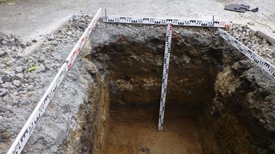 В могилах были обнаружены гробы с младенцами