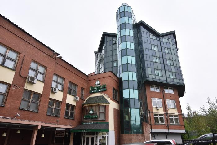 Гостиница «Эмеральд» расположена в историческом центре Екатеринбурга