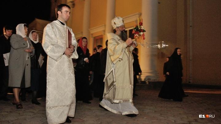 Пасхальный крестный ход в центре Екатеринбурга возглавит колонна из юных скаутов и барабанщиков
