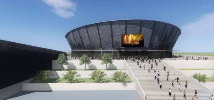 Проект арены, презентованный летом прошлого года