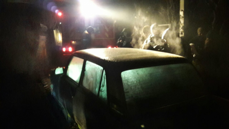 Машина была подо льдом толщиной 5–7 см