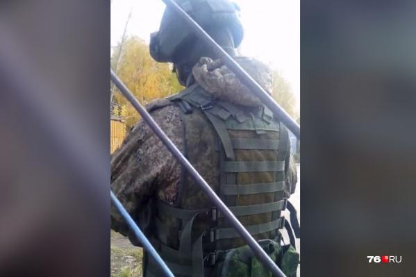 Сотрудники котельной фотографировали военных со своей территории