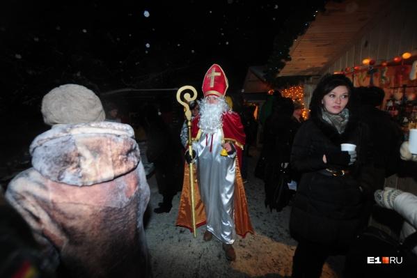В Екатеринбурге есть несколько христианских церквей, отмечающих Рождество в европейской традиции