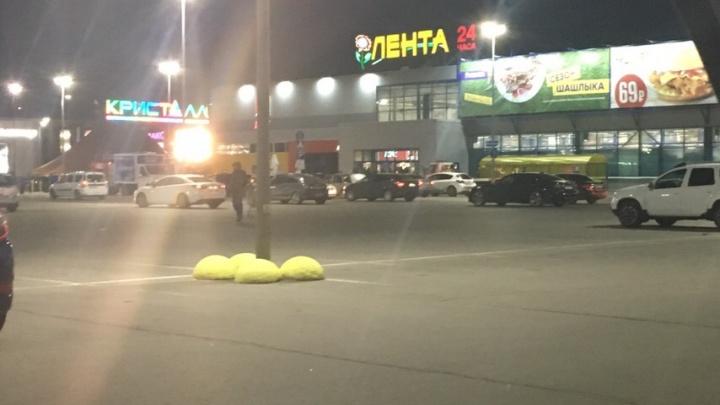 В Тюмени эвакуировали гипермаркет «Лента»
